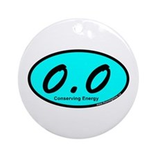 AquaZeroPointZero Ornament (Round)