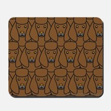 Brown Poodles Mousepad