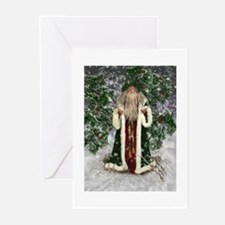 Father Christmas Card Greeting Cards