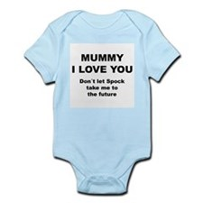 Mummy, I love you. Don´t let Spock take me Infant