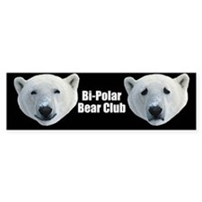 Bi-Polar Bear Club bumpersticker
