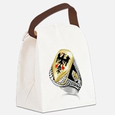 Cute Teutonic knights Canvas Lunch Bag