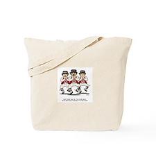 Morris Dancers Gangnam Style Tote Bag