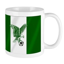 Nigerian Football Flag Mug