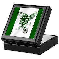Nigerian Football Flag Keepsake Box
