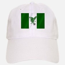 Nigerian Football Flag Baseball Baseball Cap