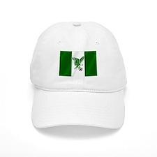 Nigerian Football Flag Baseball Cap