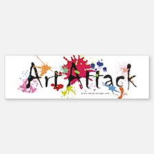 Art Attack Artist Bumper Bumper Sticker