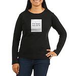 sex shirt Women's Long Sleeve Dark T-Shirt