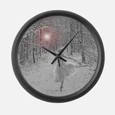 The Snow Queen Large Wall Clock