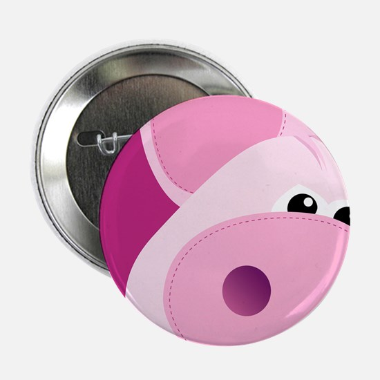 "Happy Piggy 2.25"" Button"