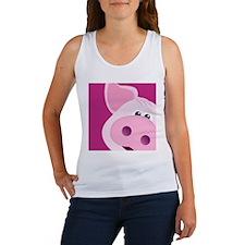 Happy Piggy Women's Tank Top