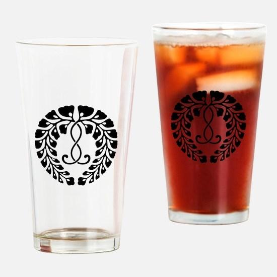 Kujo wisteria Drinking Glass