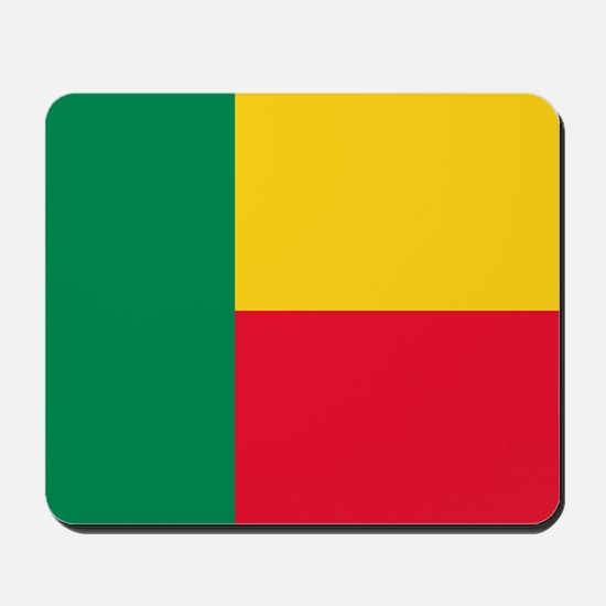 Flag of Benin Mousepad
