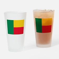 Flag of Benin Drinking Glass