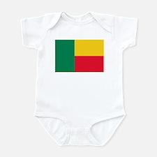 Flag of Benin Infant Bodysuit