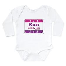 Race Bib Run Daddy Body Suit