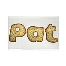 Pat Toasted Rectangle Magnet