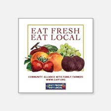 Eat Fresh Rectangle Sticker