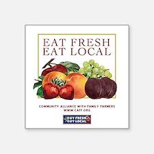 Eat Fresh Rectangle Sticker
