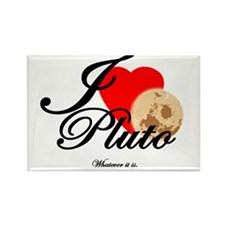 I <3 Pluto... Whatever it is. Rectangle Magnet
