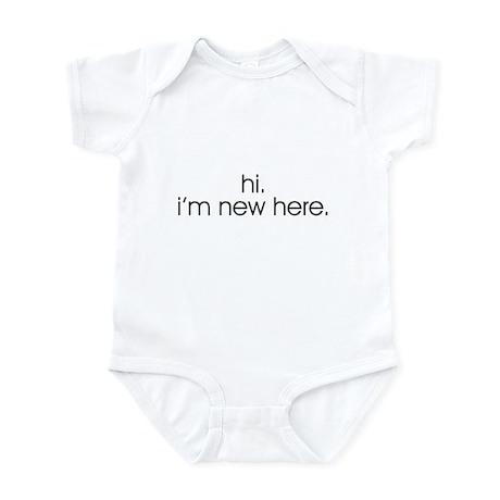 Hi. I'm new here. Infant Creeper