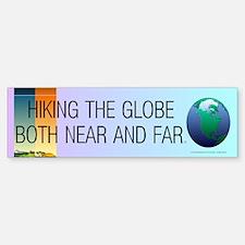TOP Hiking Slogan Sticker (Bumper)