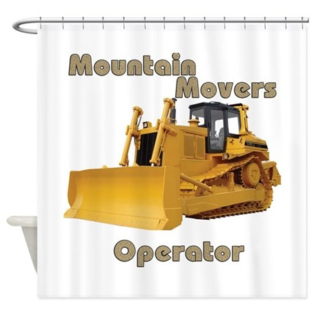Mountain Movers Shower Curtain