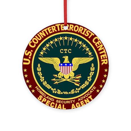 CTC - CounterTerrorist Ornament (Round)
