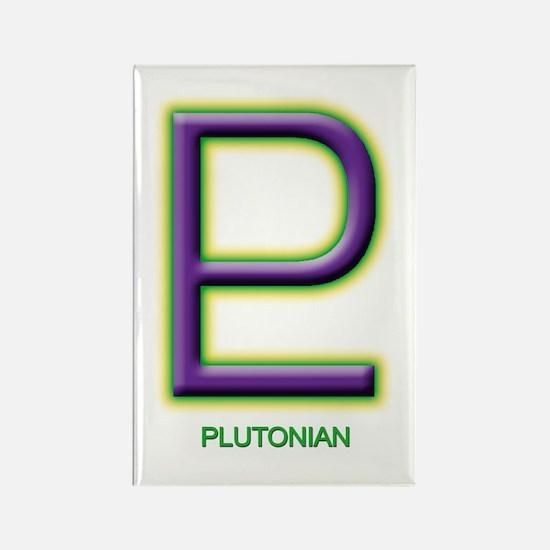 Plutonian Rectangle Magnet