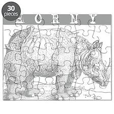 Horny Rhinoceros Puzzle