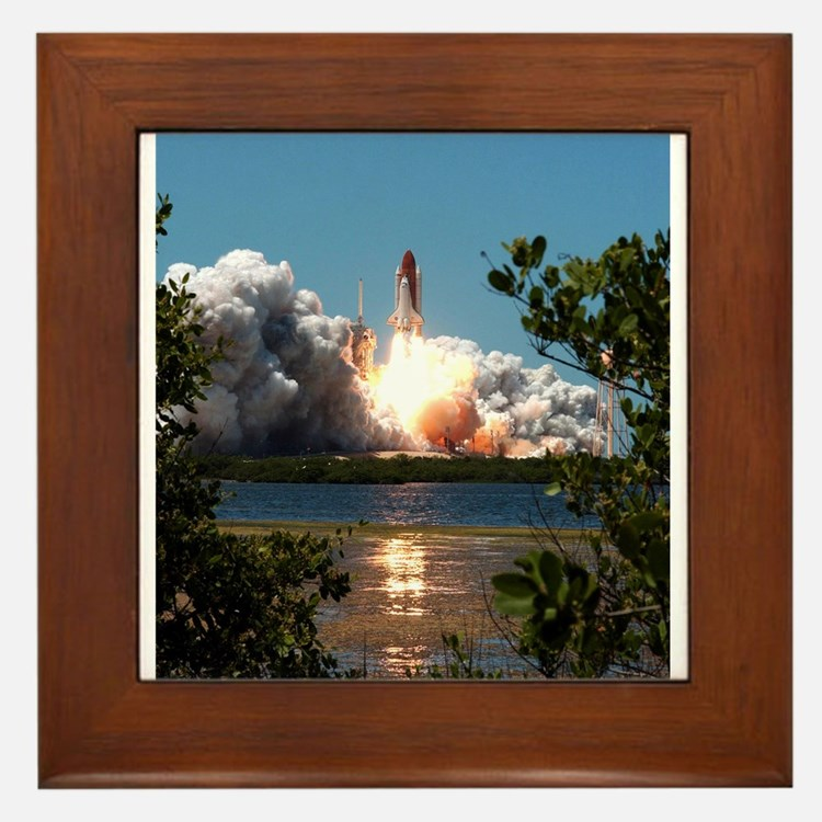 Discovery Launch Framed Tile