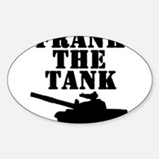 Frank The Tank Decal