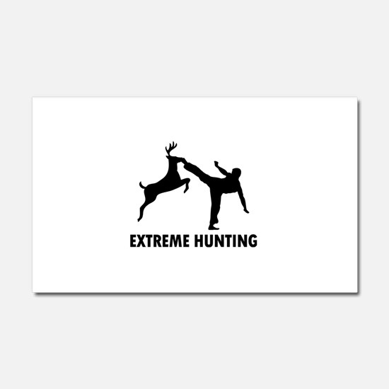 Unique Deer hunting Car Magnet 20 x 12