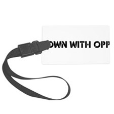 Down With Opp Luggage Tag