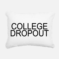 College Dropout Rectangular Canvas Pillow