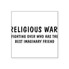"""Religious2.png Square Sticker 3"""" x 3"""""""
