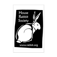 Rabbit Wood Block Posters