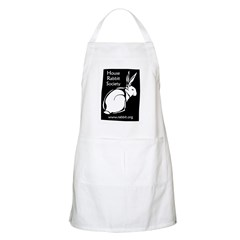 Rabbit Wood Block BBQ Apron