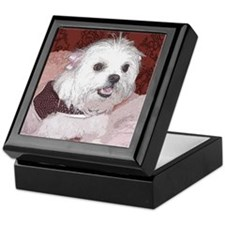 Maltese Pop Art Cosette Keepsake Box