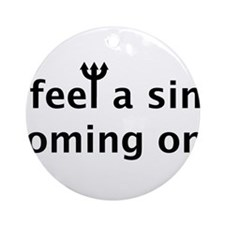 Sin2.png Ornament (Round)