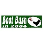 Boot Bush in 2004 Bumper Sticker