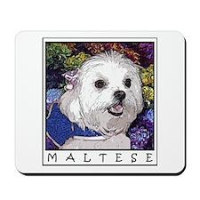 Maltese Fine Art Cosette Mousepad