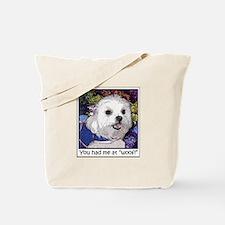 Maltese Fine Art Cosette Tote Bag