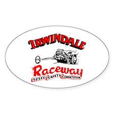 Irwindale Raceway Oval Decal