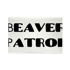 Beaver_2.png Rectangle Magnet