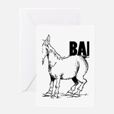 Bad Ass Donkey_2.png Greeting Card