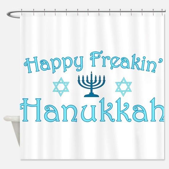hanukkah.png Shower Curtain