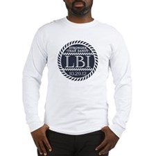 "STRONGER THAN SANDY ""LBI"" Long Sleeve T-Shirt"