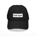 Think Again 'Ebb' Attire Black Cap